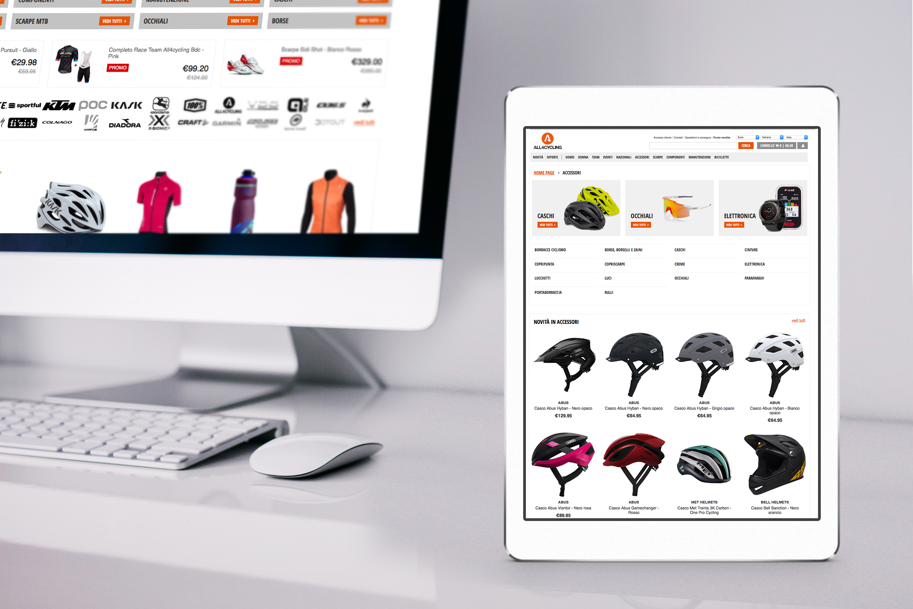 All4cycling e-commerce ciclismo