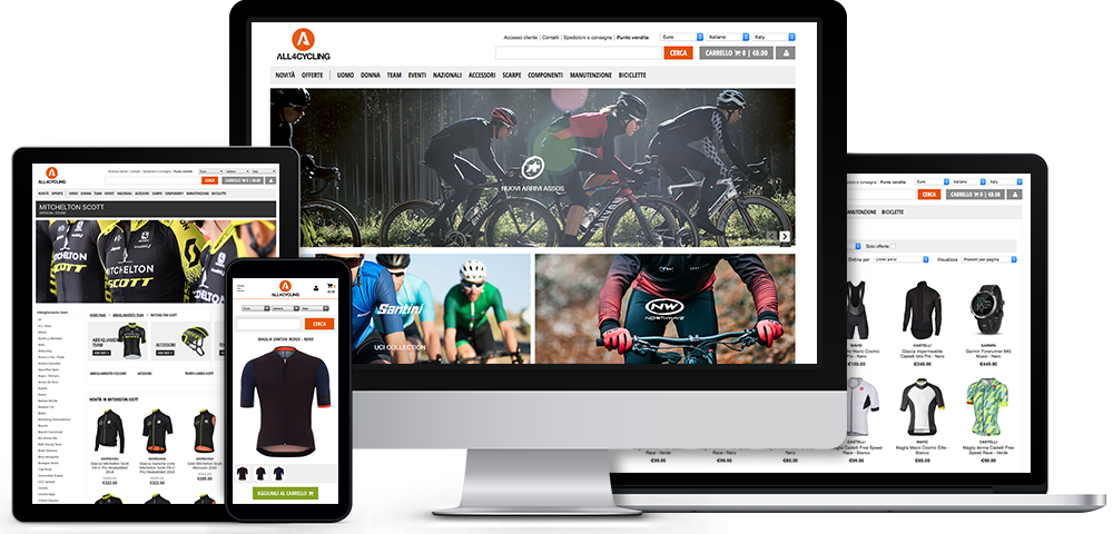 E-commerce outsourcing articoli sport